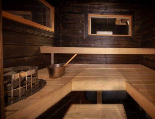 Perhe Villa sauna
